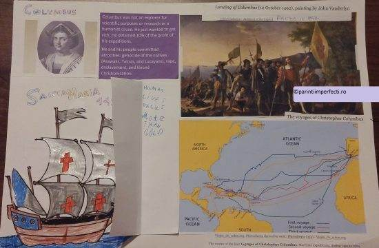 Columbus project Parintiimperfecti.ro copii mai buni
